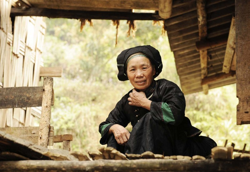 Old lady_Ha Giang, Vietnam